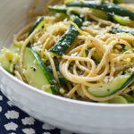 Zucchini And Lemon Spaghetti Recipe