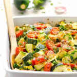 Zucchini Bake With Tomatoes, Garlic And Parmesan …
