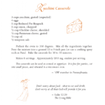 Zucchini Casserole – Featured Low Oxalate Recipe September 10