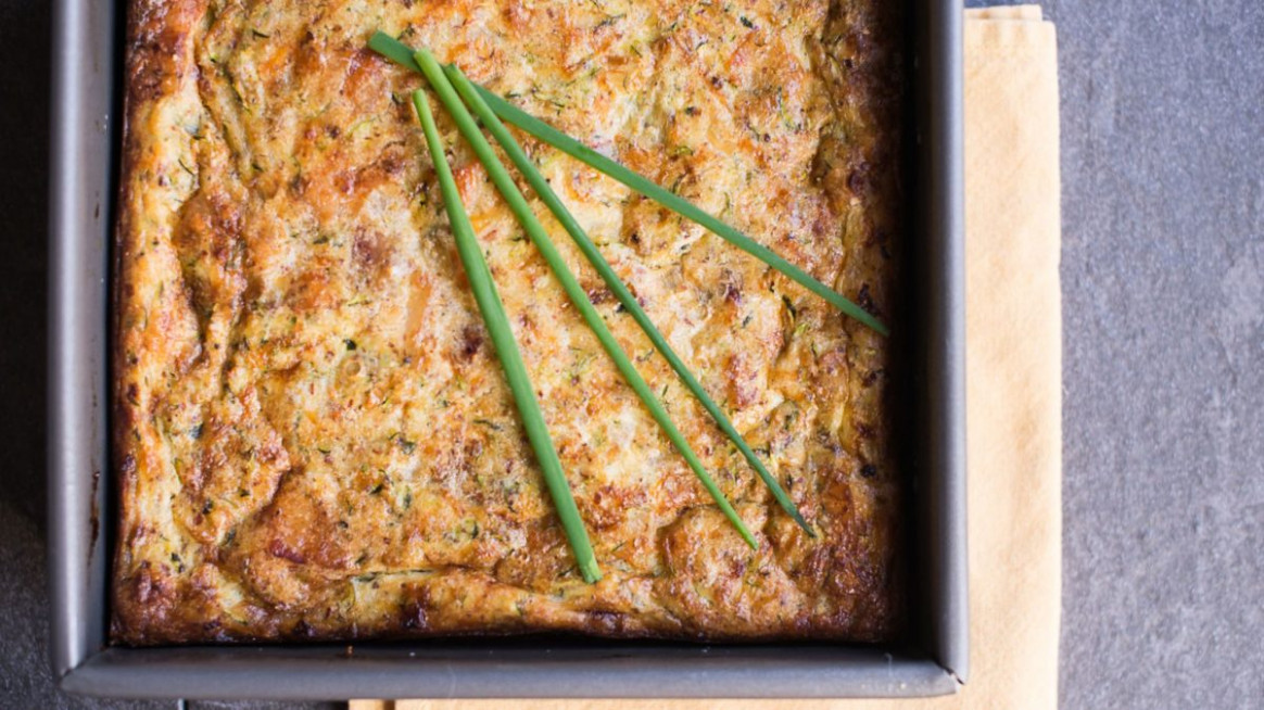 Zucchini Casserole Keto Friendly And Gluten Free | KetoLogic