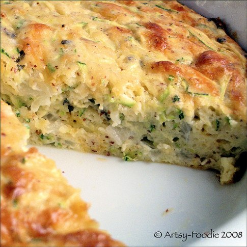 Zucchini Cheese Bake - Recipegreat.com