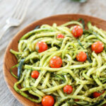 Zucchini Noodles With Pesto