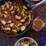 Zucchini Skillet Dinner Recipe