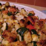 Zucchini Vegetable Stuffing Casserole Recipe – Food