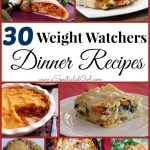 30 Weight Watchers DINNER Recipes – A Spectacled Owl