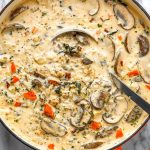 Crack Chicken Wild Rice Soup With Mushroom And Bacon