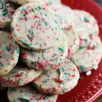 Easy Christmas Shortbread Cookies • FIVEheartHOME
