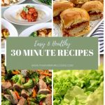 Healthy 10 Minute Meals: 10 Easy Dinner Recipes