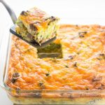 Healthy Keto Low Carb Breakfast Casserole Recipe With …