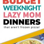 Lazy Weeknight Dinners: 10 Family Friendly Meals | Recipes …