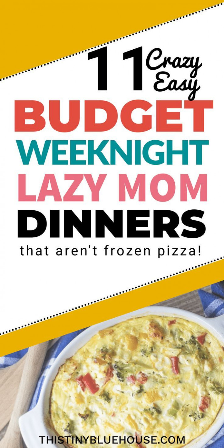 Lazy Weeknight Dinners: 10 Family Friendly Meals   Recipes …